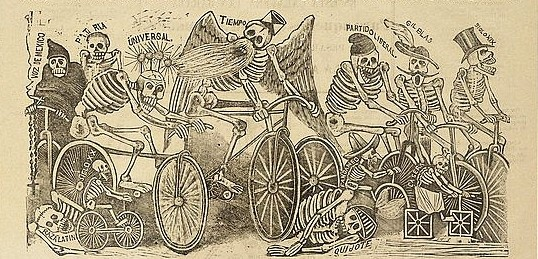 Image by José Guadalupe Posada (ca.1898-1902). Source: http://www.loc.gov/pictures/item/99615946/